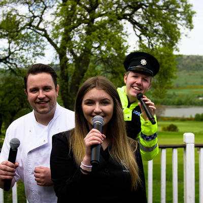 The Essential Singing Waiters Available to Book