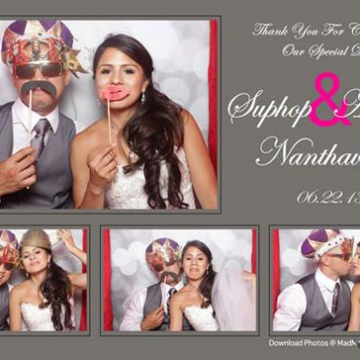 Wedding photo booth hire strip2