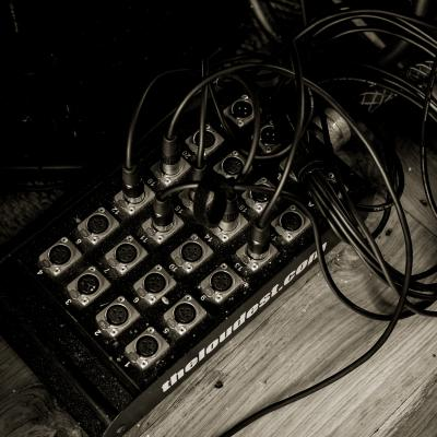 Patch Bay in the Studio