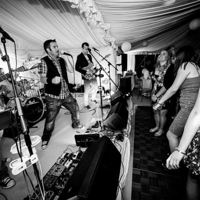 Cumbria Wedding Band The Accused2