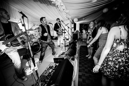 Cumbria Wedding Band The Accused