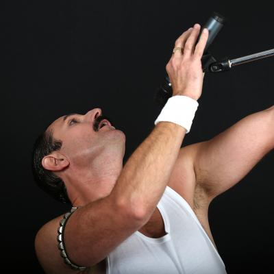 Freddie Mercury Tribute from Hireaband.co.uk
