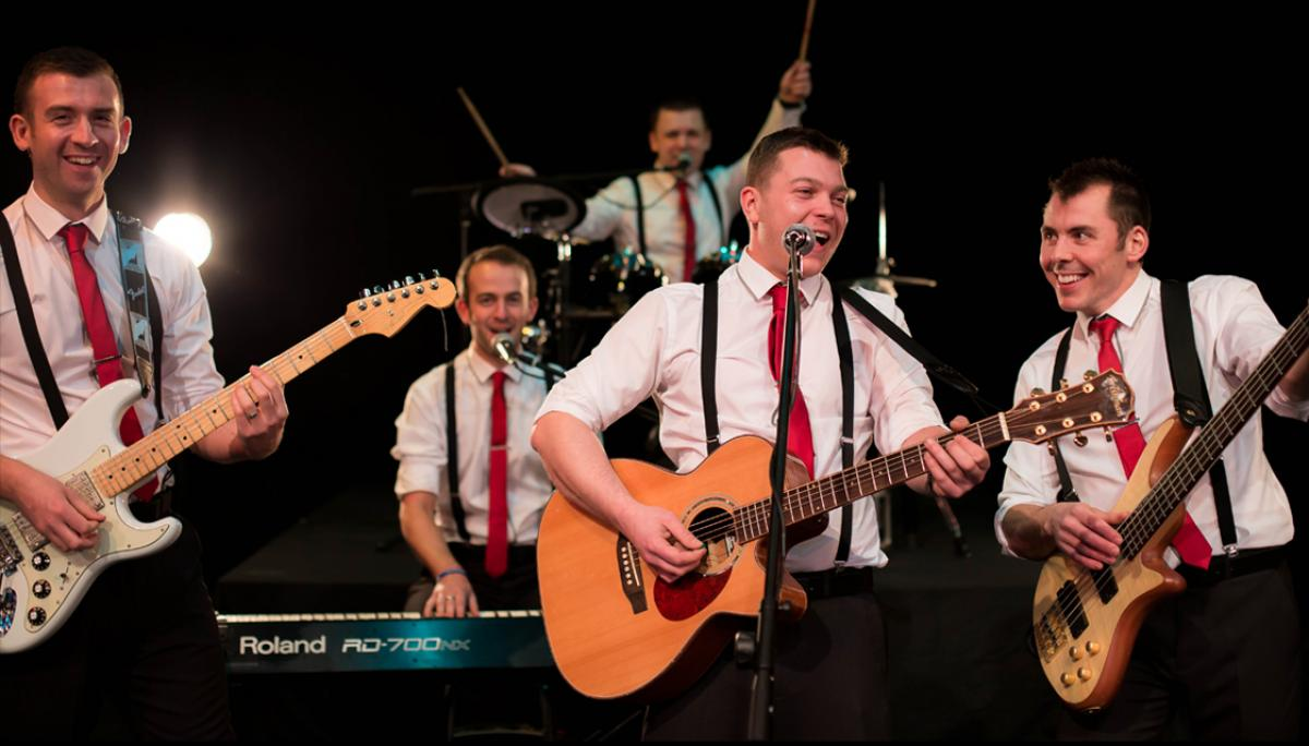Swing band scotland wedding bands