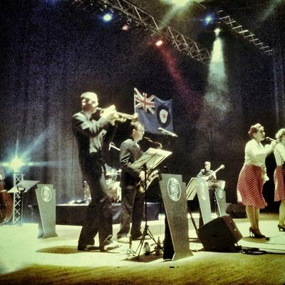 The Reboppers Vintage Band Live