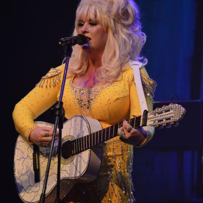 dolly yellow guitar