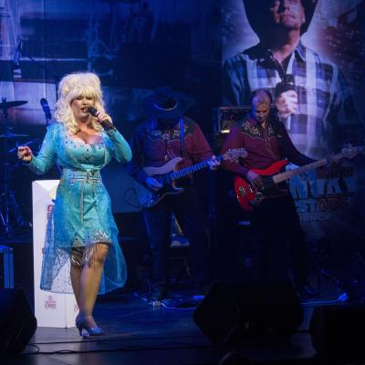 SJ as Dolly in Blue
