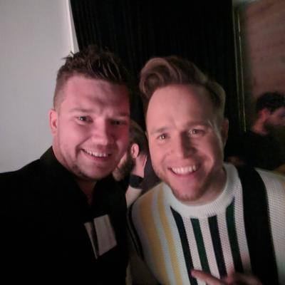 Jack and Olly Selfie