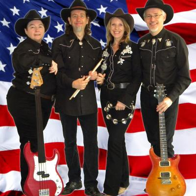 Country Roads Traditional Country Function Band London 4 Piece Lineup