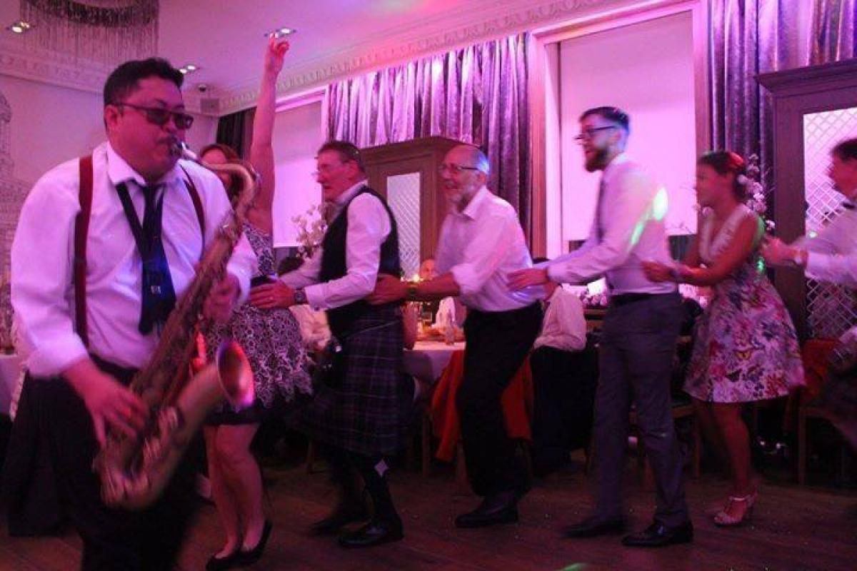 the shakers wedding function band live sax instant