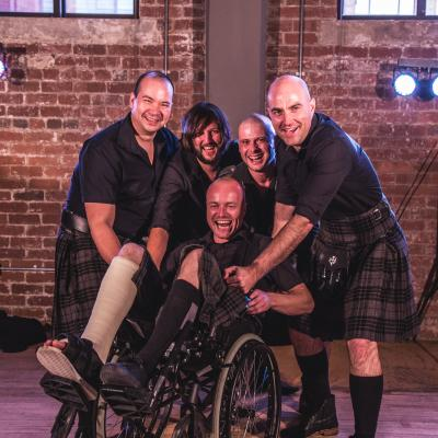 Book the Kilts for your function