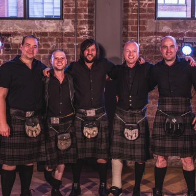 The Kilts wedding band