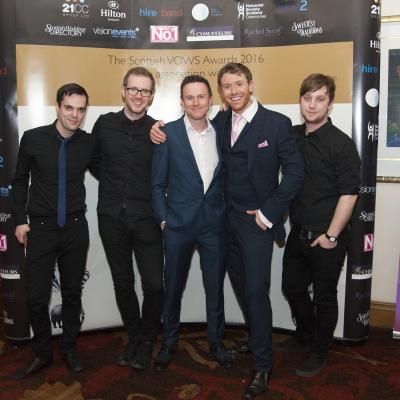 Circus VOWS Awards Band 2016
