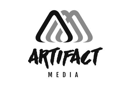 artifact media logo design newcastle