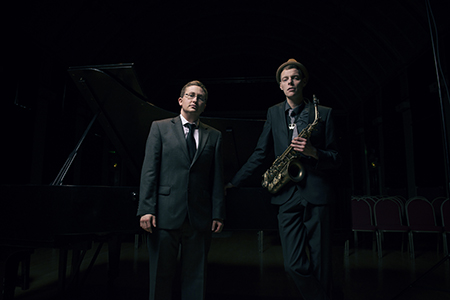 Black & Gold Jazz Duo