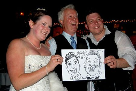Hire A Band Caricature Crew