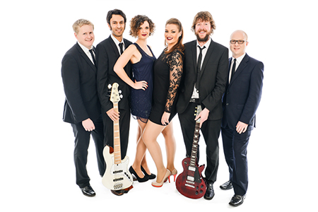 The Lights funk, soul and pop band exclusive to Hireaband, based in Bristol.