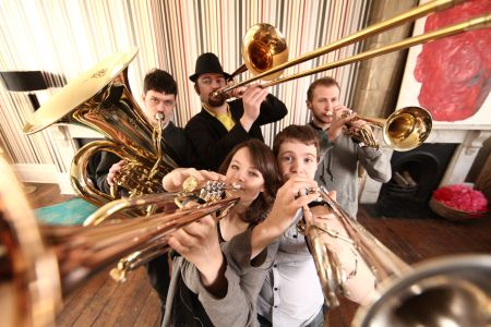 Hosen Brass Oompah Band with Hire A Band
