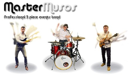 MasterMusos a stunning wedding band from Kent - By Hire A Band