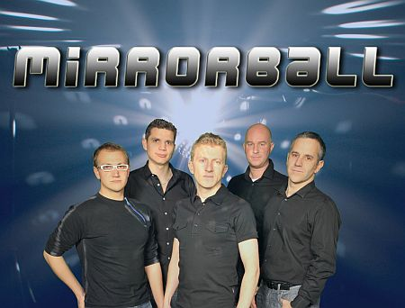 Mirrorball function band from Hireaband