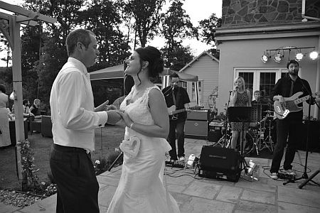 Energetic 4 piece Midlands based wedding band available through Hireaband